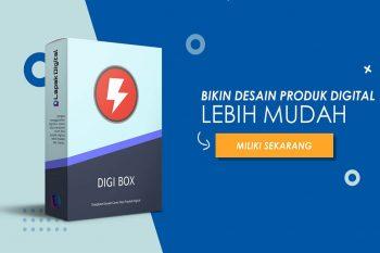 Digi Box - Template Desain Cover Box Produk Digital