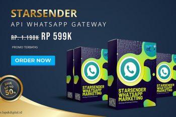 STARSENDER - API WhatsApp Gateway & Marketing Murah